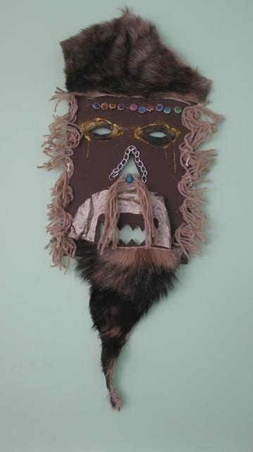 """""""Светът, в който живея"""" - кукерски маски 4"""